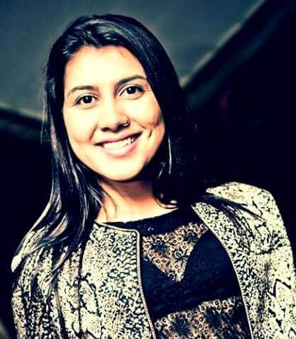 Eduarda Souza, a bela do G. E. Metropolitano.