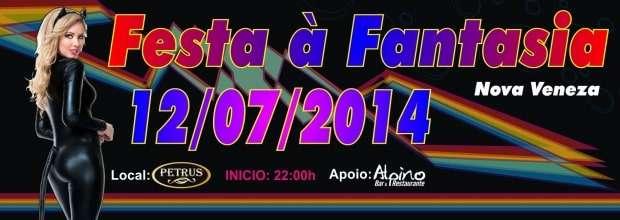 Não perca tempo! Garanta já o seu ingresso para a Festa a Fantasia que acontece dia 12/07, no Centro de Eventos Petrus, e tem o apoio de Alpino Bar e Restaurante.
