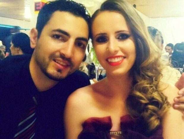 Lucas Olivério e Pauline Texeira Aléssio, um belo casal.
