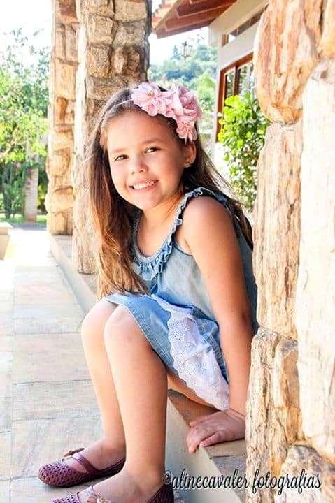 Nossa pequena Pietra Zanoni é pura fofura!
