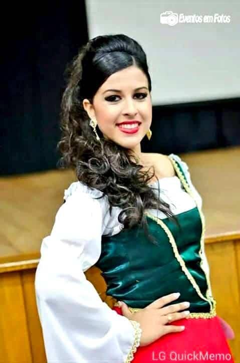 A bela Maria Eduarda Coan.