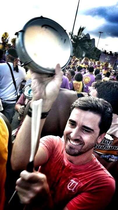Além de estudar, Fábio Cadorin também curti o Rio de Janeiro!
