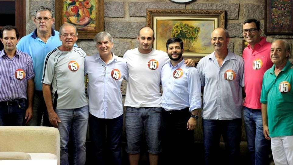 O ex-prefeito Edio Minatto e seu filho Rafael se filiaram ao PMDB na sexta-feira no final da tarde com a presença de lideranças peemedebistas locais.