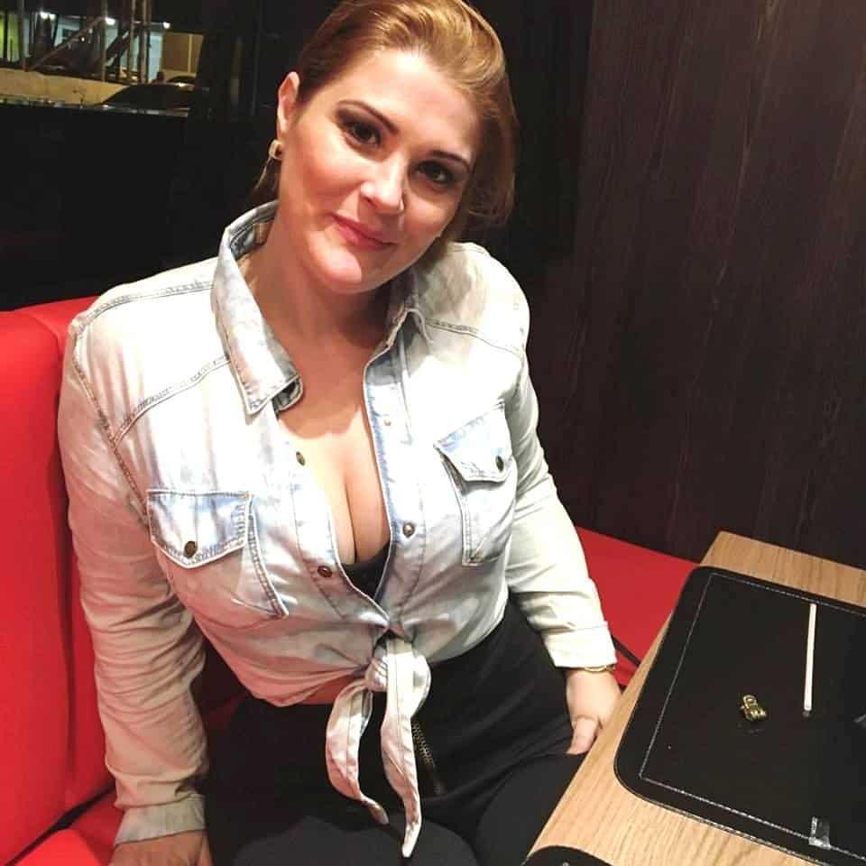 Milena Peterle Savio super de bem com a vida.