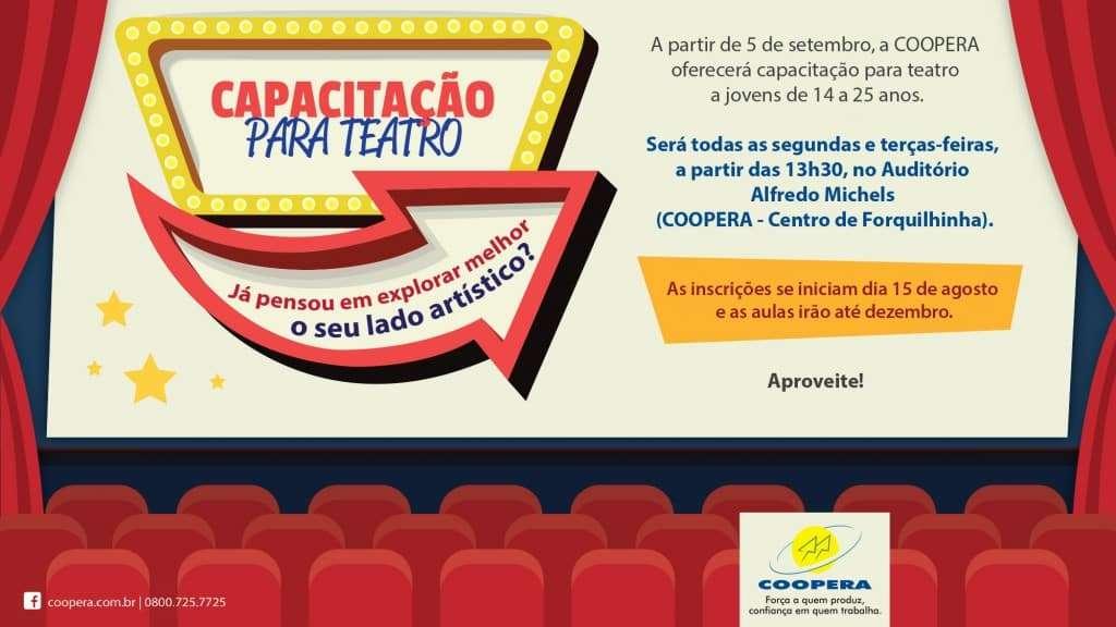 anuncio meia teatro