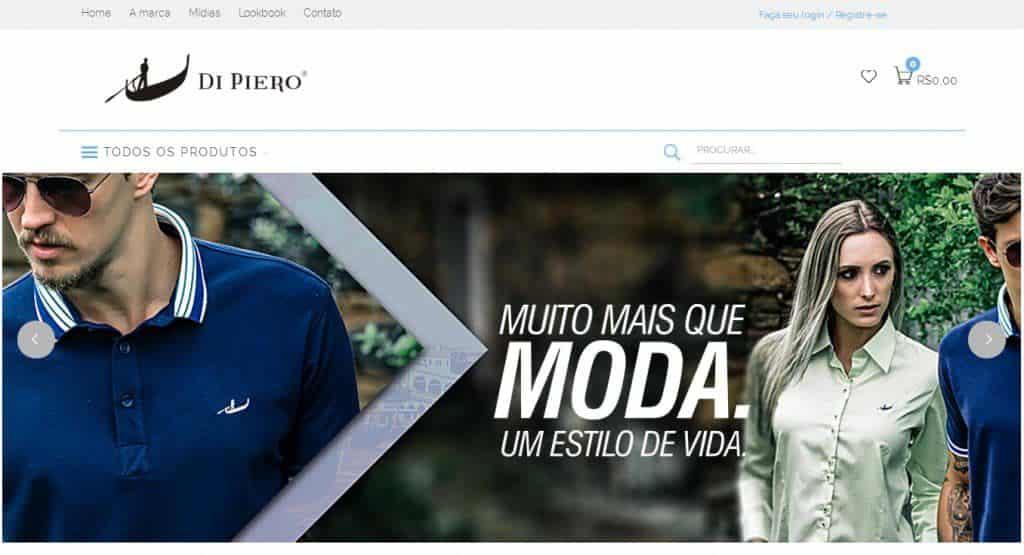 Di Piero Uomo investe em plataforma online de vendas  204886a17eb