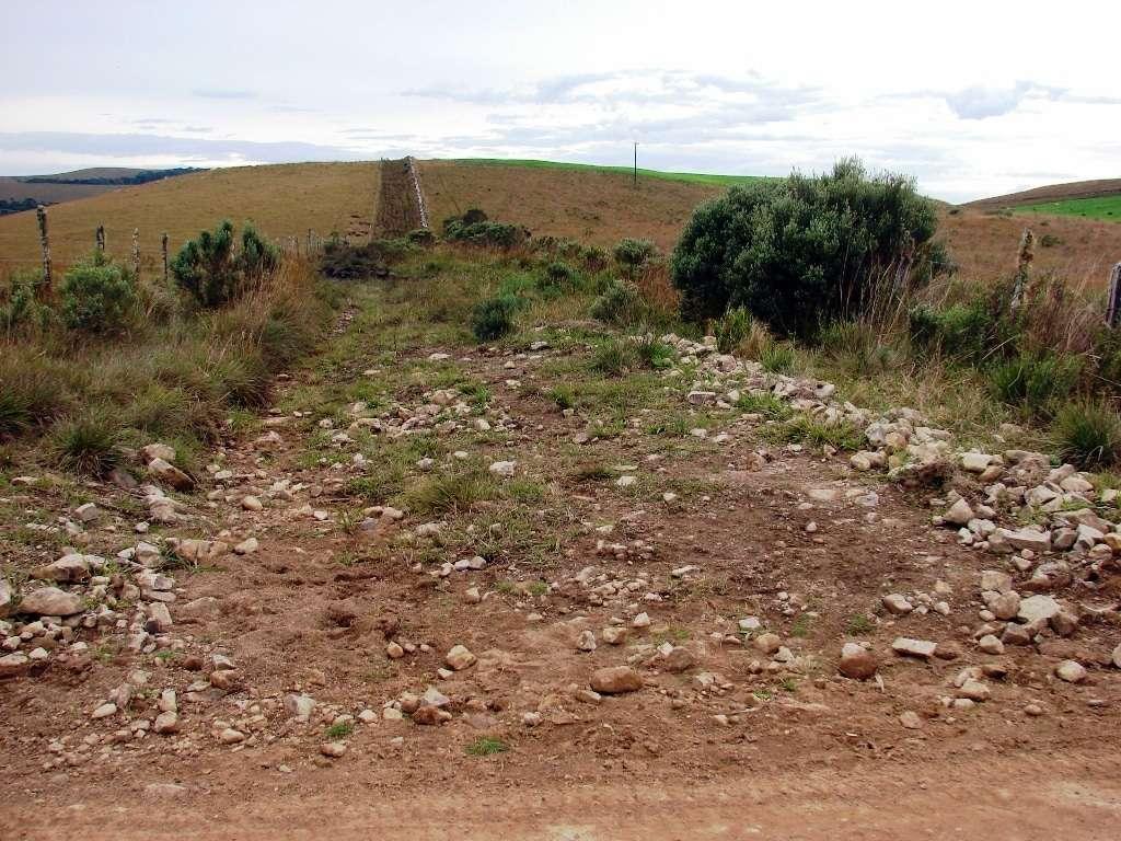 Este corredor é para conduzir o gado na região e evitar danificar as pastagens.