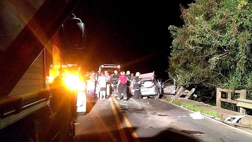 23cc841da1223 Morador de Nova Veneza morre em grave acidente de trânsito em Forquilhinha
