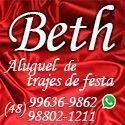Beth aluguel de trajes