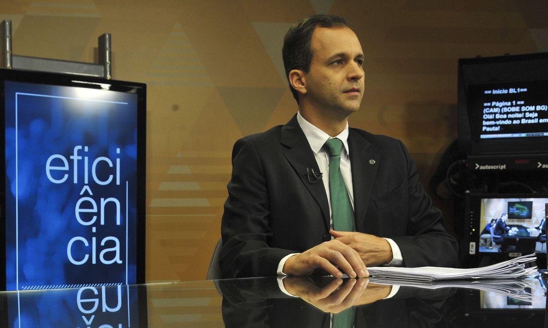 O secretário de Gestão do Ministério da Economia, Cristiano Heckert, participa do programa  Brasil em Pauta