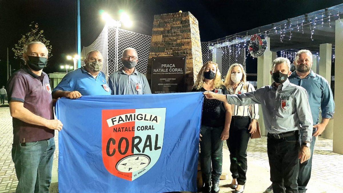 piassa natale coral foto inaugurasion
