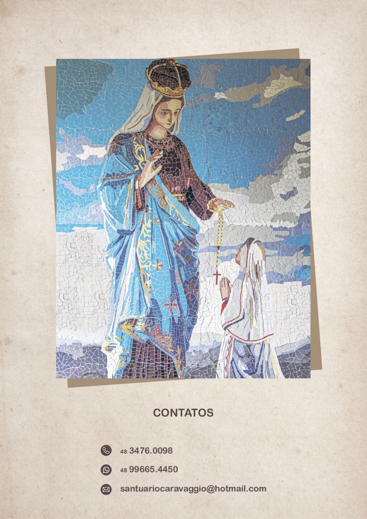 Programação 70ª Romaria e Festa em Honra a Nossa Senhora de Caravaggio