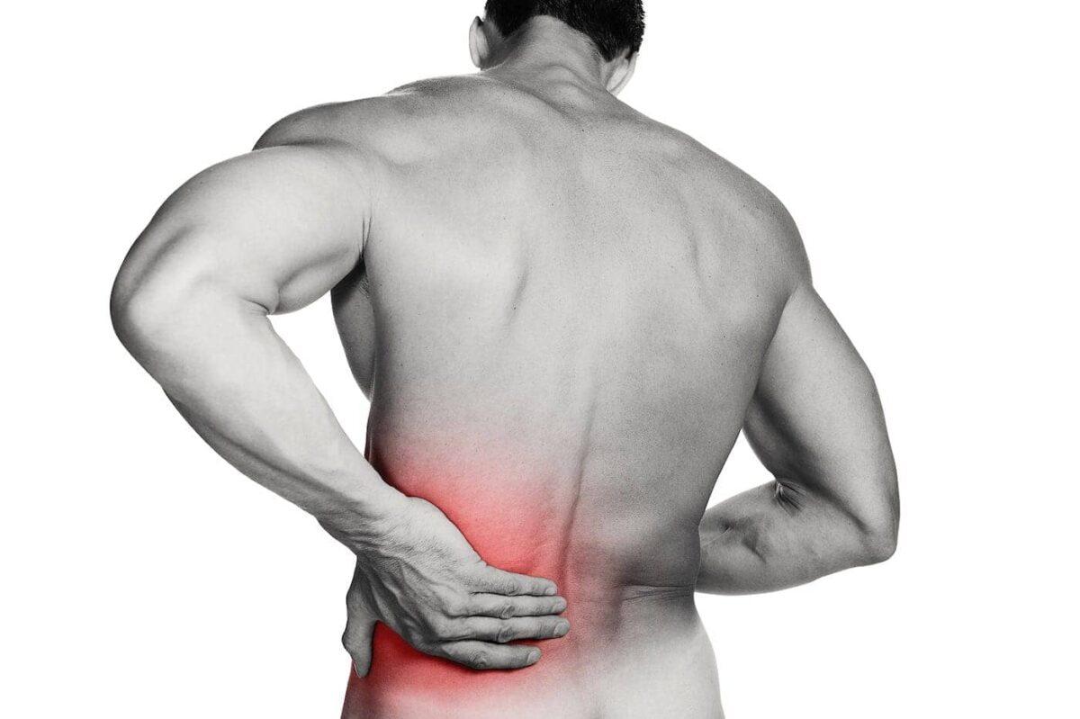 Dor nas costas como curar